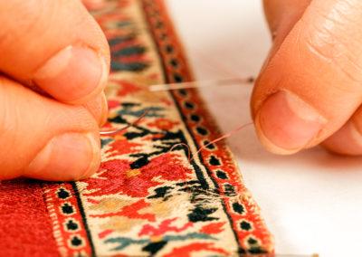 Helene Dubuis | restauration textile